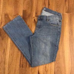 Old Navy women's Flirt jeans. Size 14.